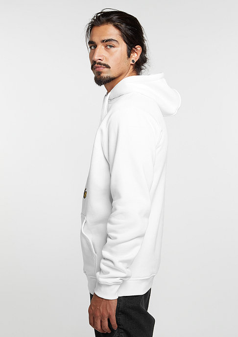 Wavey Hooded-Sweatshirt Jump Over white