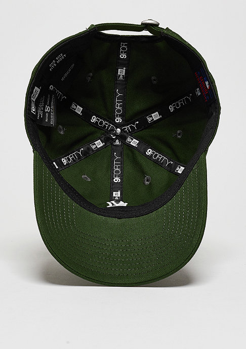 New Era Baseball-Cap 9Forty Essential MLB New York Yankees rifle green/white