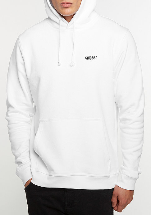 SNIPES Chest Logo white/black embroidery