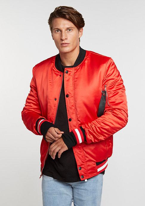 Sixth June Varsity Jacket red