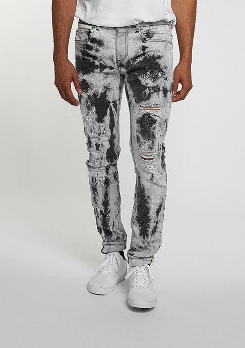 Sixth June Jeans Robal Destroyed grey tie dye