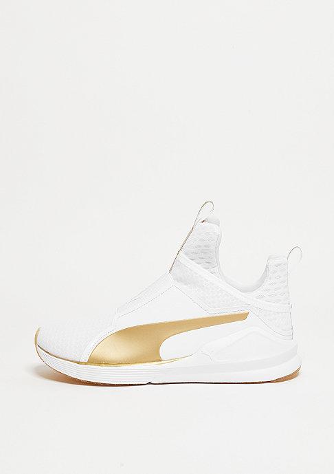 Puma Fierce Gold white