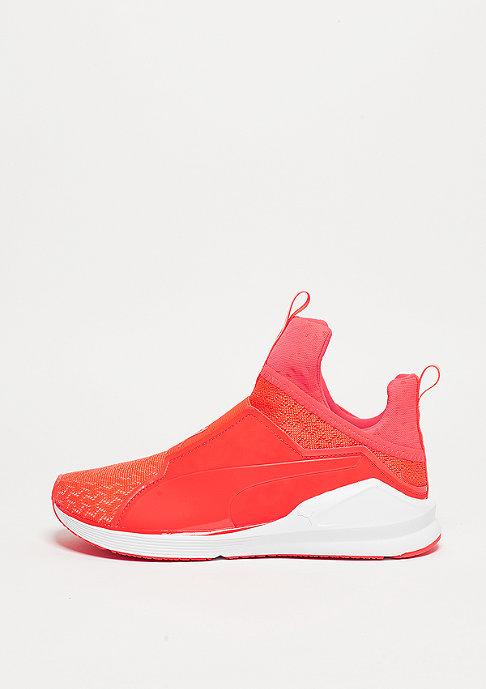 Puma Schuh Fierce Eng Mesh red blast/white