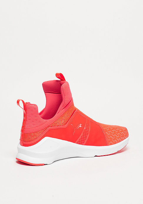 Puma Fierce Eng Mesh red blast/white