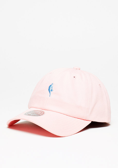 Mitchell & Ness Dribbler Logo Low Pro NBA pink/light blue