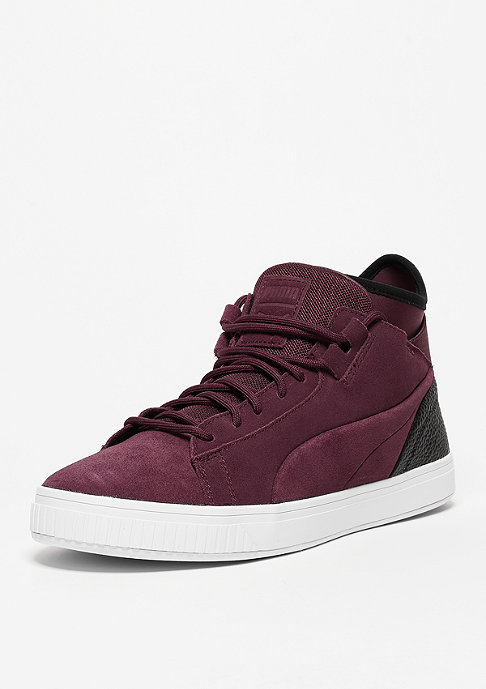 Puma Clyde Play B&C winetasting/black