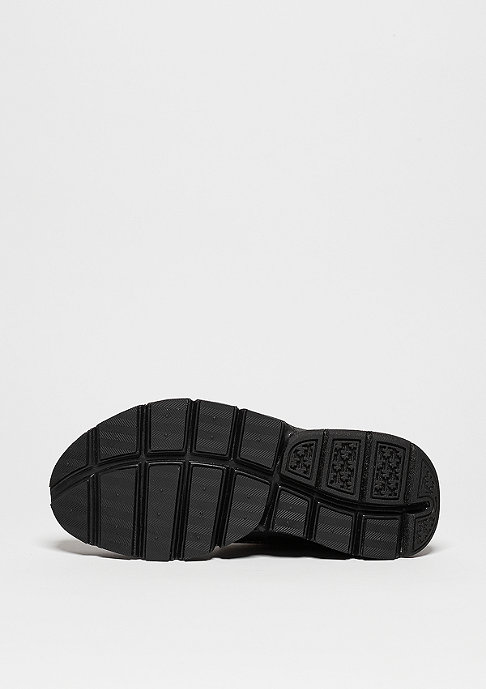 NIKE Sock Dart black/black/volt