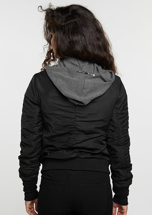 Sixth June Übergangsjacke Bomber black