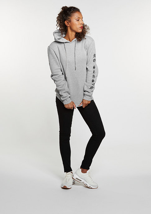 Sixth June Gothic Hooded Sweater grey