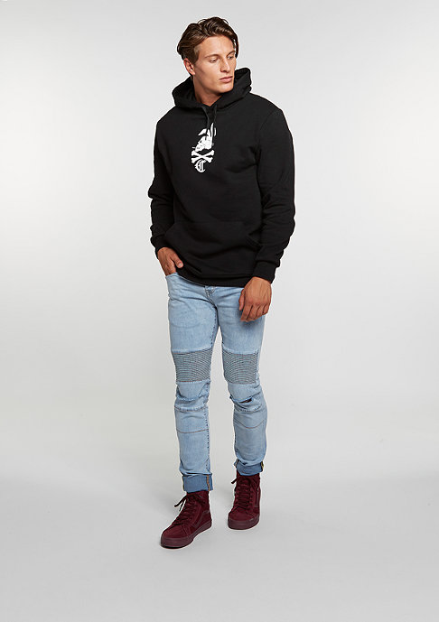 Crooks & Castles Hooded-Sweatshirt Dolomite black