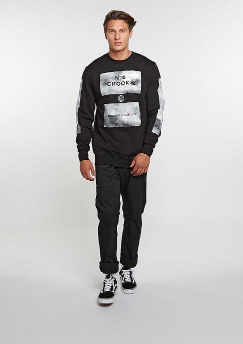 Crooks & Castles Sweatshirt Hotbox black