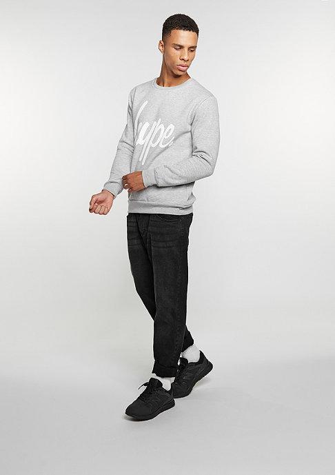 Hype Sweatshirt Script grey/white