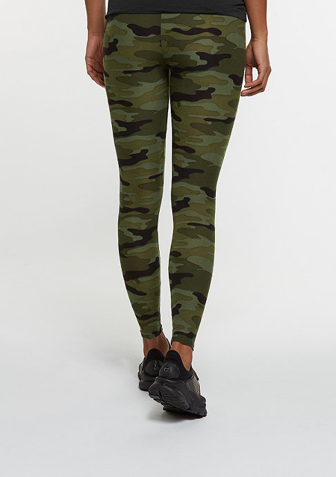 Urban Classics Camo Leggings woodland
