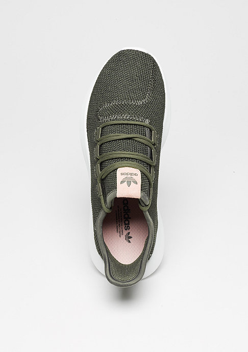 adidas Laufschuh Tubular Shadow mystery green/core black/white