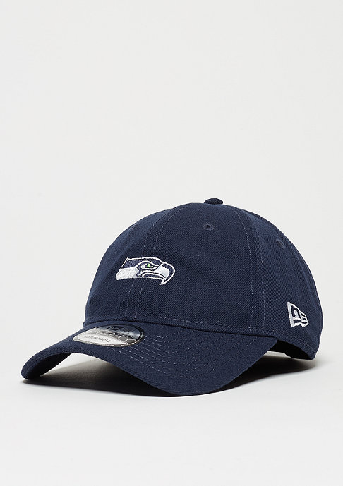 New Era Baskeball-Cap 9Twenty Unstructured NFL Seattle Seahawks oceanside blue