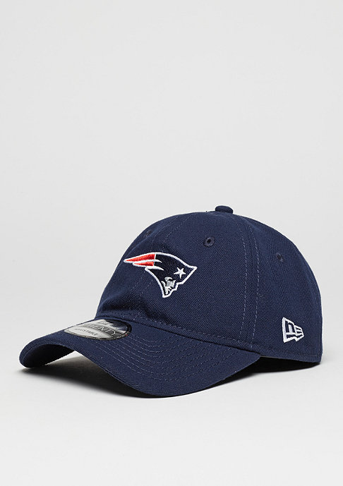 New Era Baseball-Cap 9Twenty Unstructured NFL New England Patriots oceanside blue