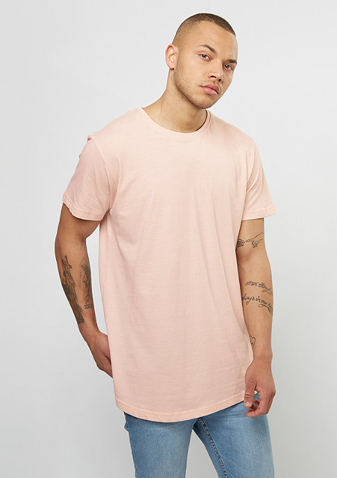 Urban Classics T-Shirt Shaped Long pink