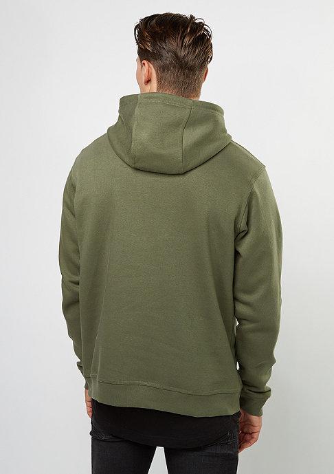 SNIPES Hooded-Sweatshirt Chest Logo olive night