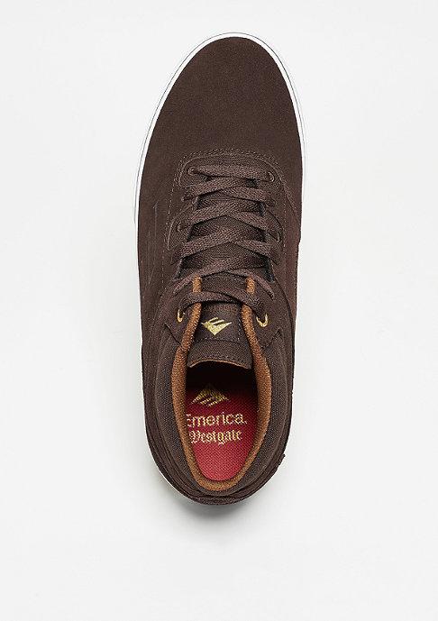 Emerica Westgate Mid Vulc dark brown