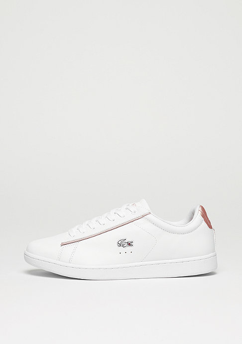 94c16171f2 Commander Lacoste Carnaby Evo 217 2 SPW white/light pink chez SNIPES