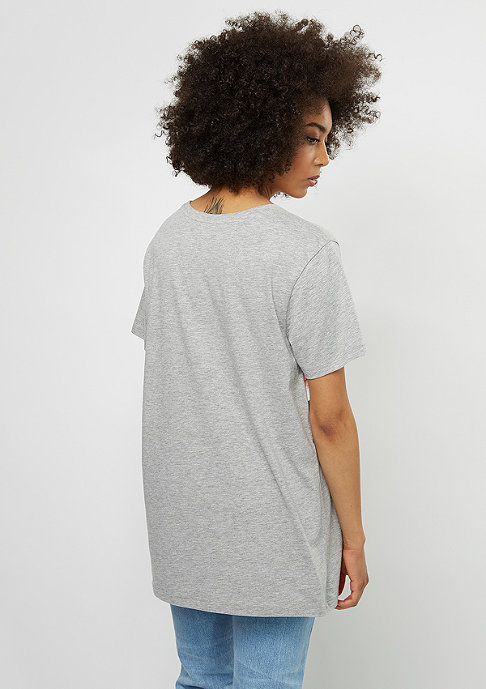 SNIPES T-Shirt Block silver pink/grey/white
