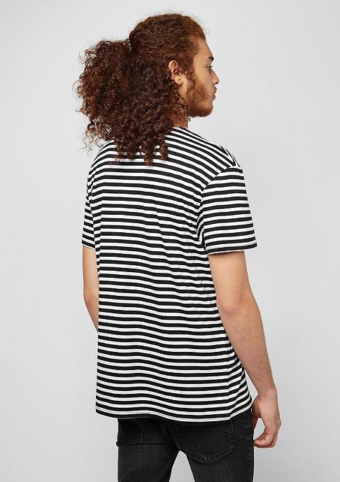 Cheap Monday Standard Prep Small Skull black stripes