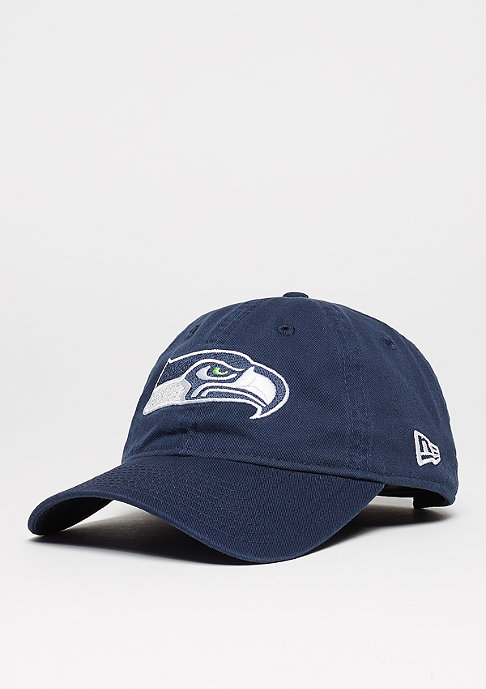 New Era Baseball-Cap 9Forty Unstructured NFL Seattle Seahawks blue