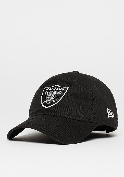 New Era Baseball-Cap 9Forty Unstructured NFL Oakland Raiders black