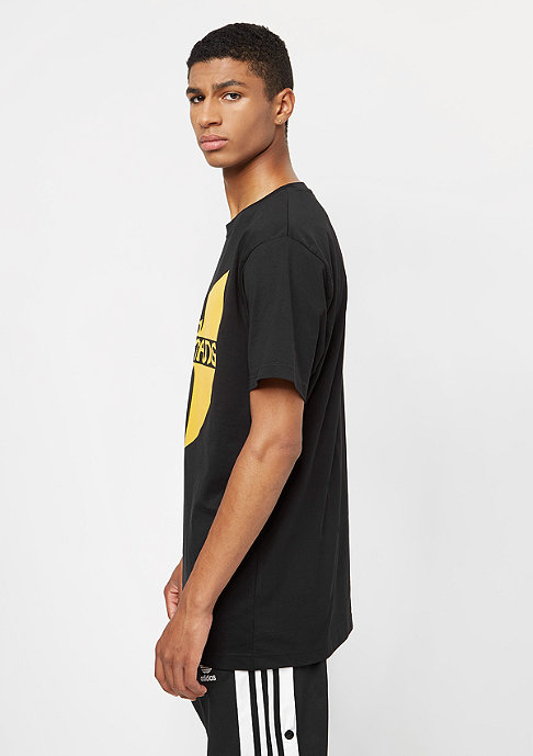 Wu-Wear T-Shirt Wu-Logo black/yellow