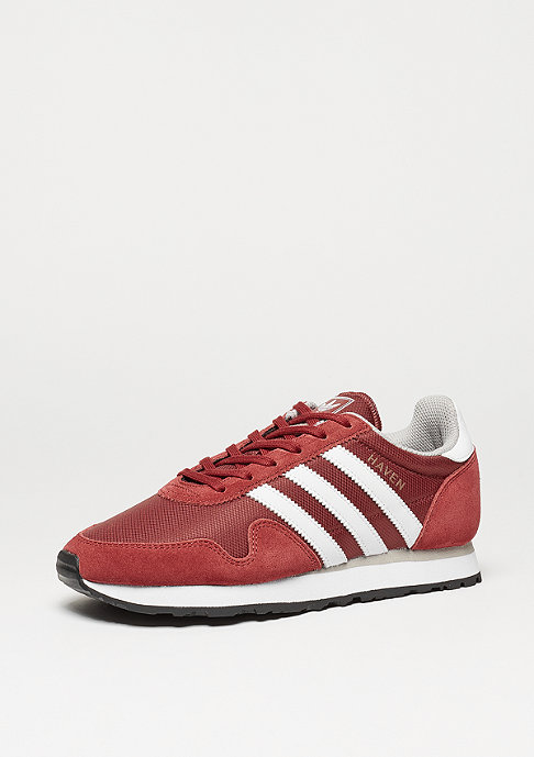 adidas Laufschuh Haven mystery red/white/core granite