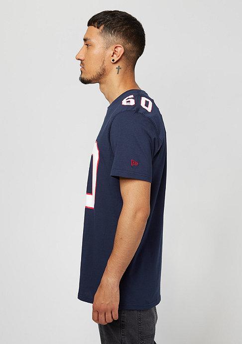 New Era Number Classic NFL New England Patriots navy