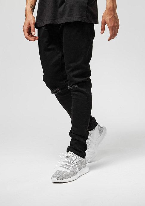 Urban Classics Slim Fit Knee Cut Denim black Jeans Hosen bei SNIPES  bestellen 566118f73d