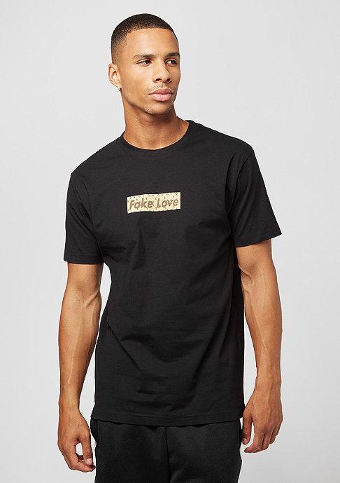 fake love black t shirt von mister tee bei snipes kaufen. Black Bedroom Furniture Sets. Home Design Ideas