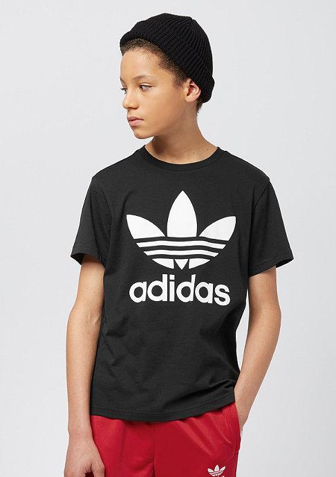 Junior Trefoil black-white