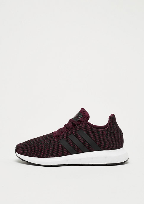 adidas Originals Swift Run J Kinder-Sneaker Maroon/Black 36 2/3