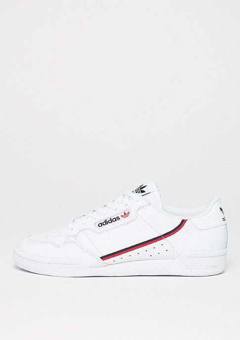 Continental 80s ftwr white/scarlet/colle