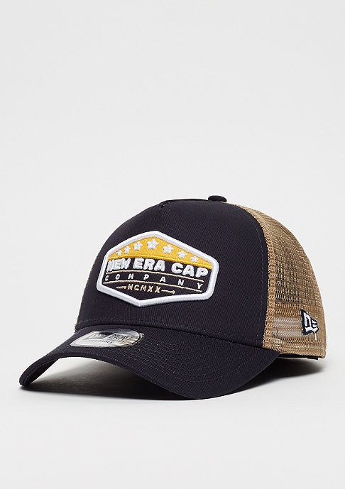 9Forty MXMXX Patch Trucker navy