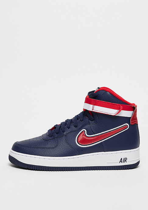 Air Force 1 High ´07 LV8 midnight navy-university red-white