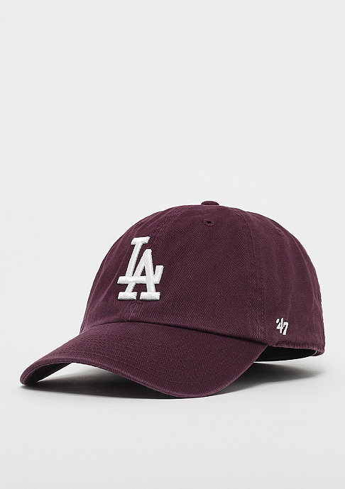 215b3a9e68754 Compra 47 Brand MLB Los Angeles Dodgers  47 Clean Up dark maroon Gorras de  Baseball en SNIPES
