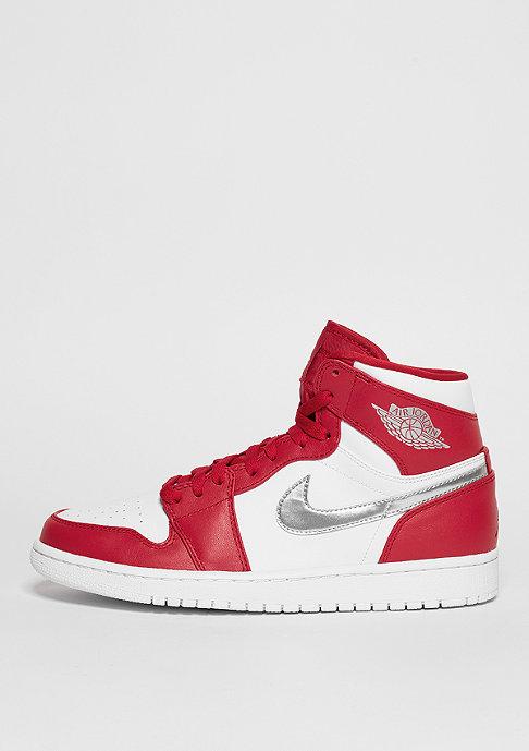 JORDAN Basketballschuh Air Jordan 1 Retro High gym red/metallic silver/white