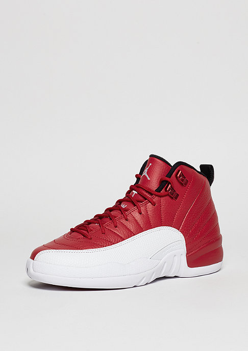 JORDAN Basketballschuh Air Jordan 12 Retro BG gym red/white/white