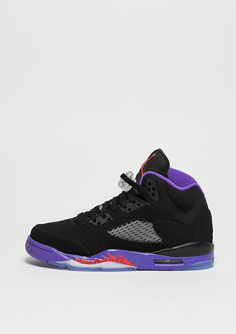JORDAN Basketballschuh Air Jordan 5 Retro GG black/ember glow/fierce purple