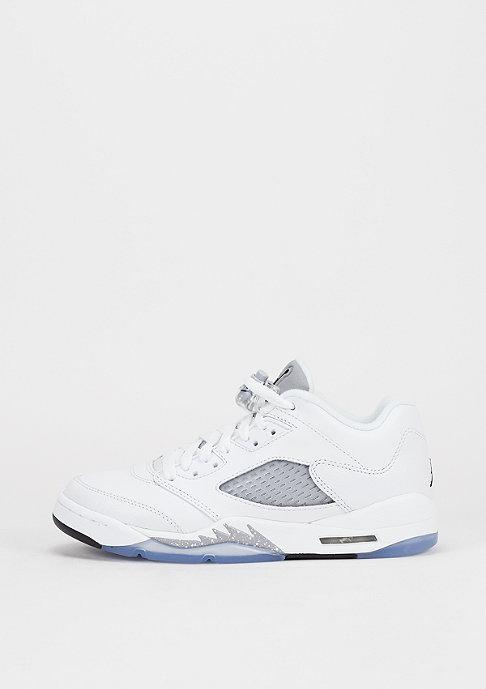 JORDAN Basketballschuh Air Jordan 5 Retro Low GG white/black/wolf grey