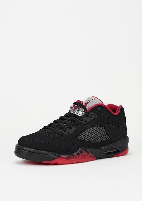 JORDAN Basketballschuh Air Jordan 5 Retro Low GS black/gym red/black