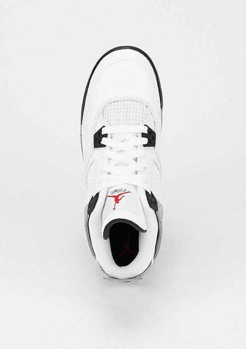 JORDAN Basketballschuh Air Jordan 4 Retro OG BG white/fire red/black