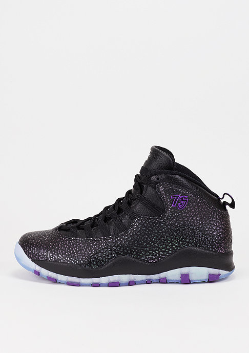 JORDAN Basketballschuh Air Jordan 10 Retro black/fierce purple/black