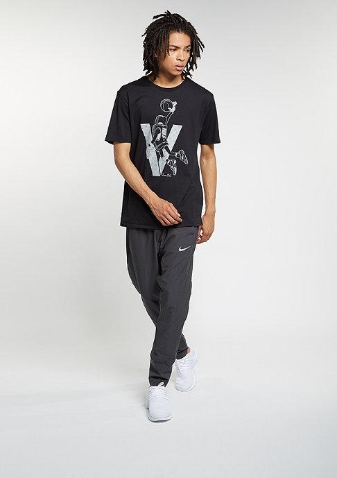 JORDAN T-Shirt Air Jordan 5 Toggle black/white