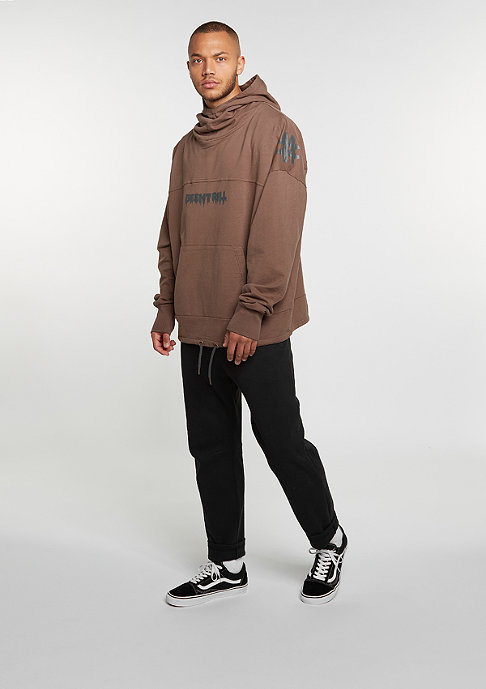 Been Trill Hooded-Sweatshirt Oversized Hoody rust