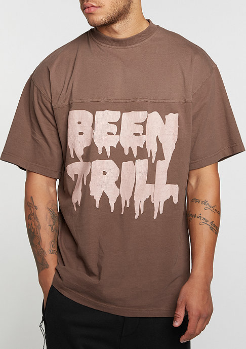 Been Trill T-Shirt Oversized dark grey