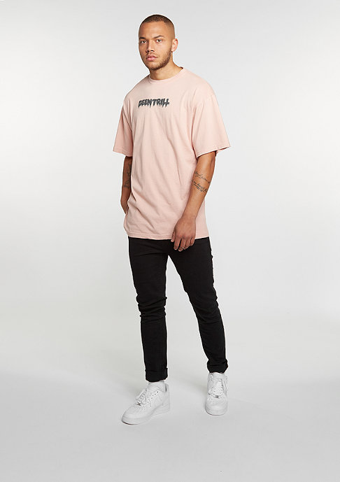 Been Trill T-Shirt Oversized rose